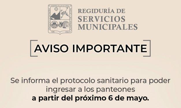 Autorizan apertura de panteones en Huajuapan