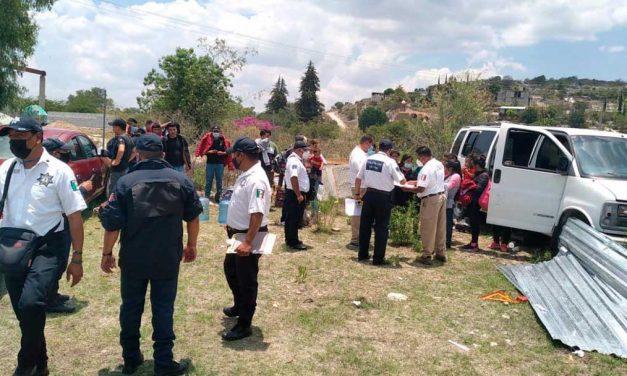 Detienen a cuatro polleros con 36 personas de origen centroamericano