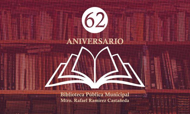Biblioteca Pública Municipal cumple 62 años