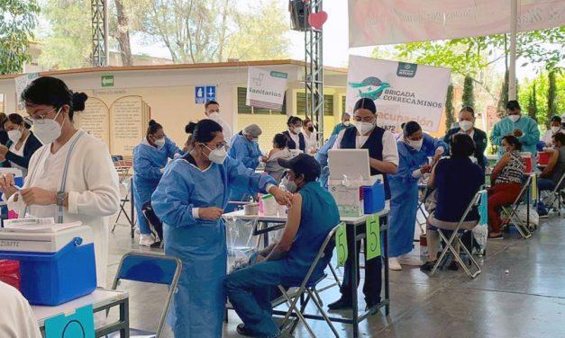 Menos del 40 por ciento de la población de Huajuapan está vacunada