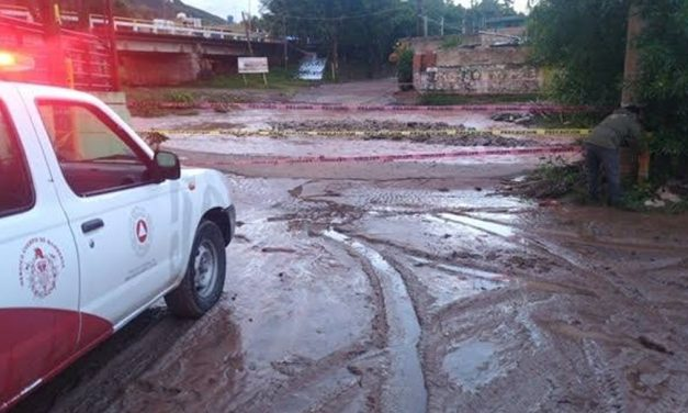 Alerta PC sobre riesgos de derrumbes y corrientes de agua