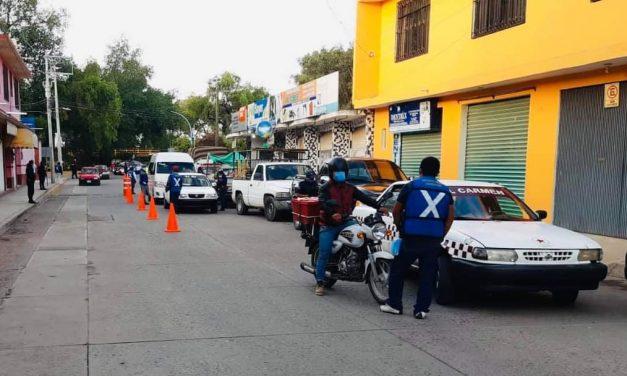 Ayuntamiento continúa con acciones para mitigar la pandemia