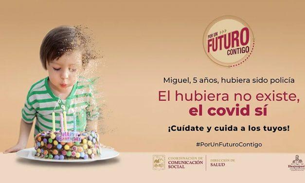 Lanza municipio campaña Por un futuro contigo