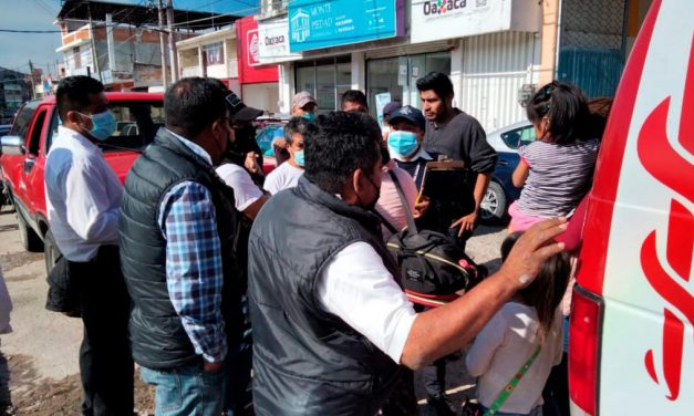 Menor es atropellado por taxista en calle Cuauhtémoc