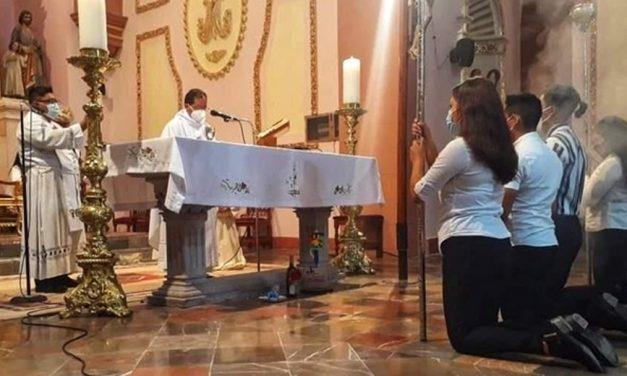 Obispo emite protocolos sanitarios de culto ante pandemia