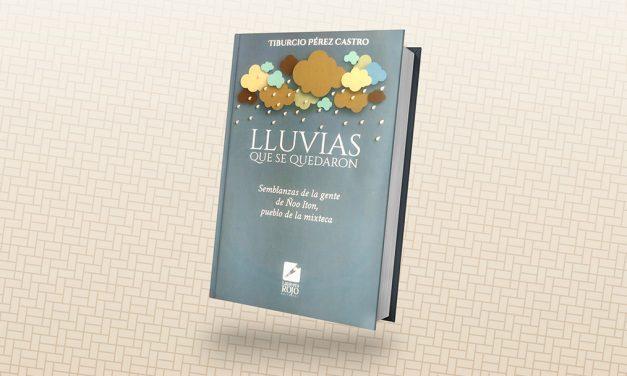 Presentan el libro Lluvias que se quedaron