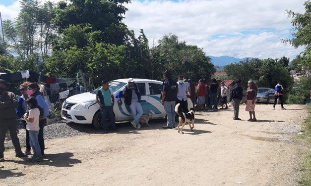 Conflicto en colonia Alma Mixteca por reasignación de lotes