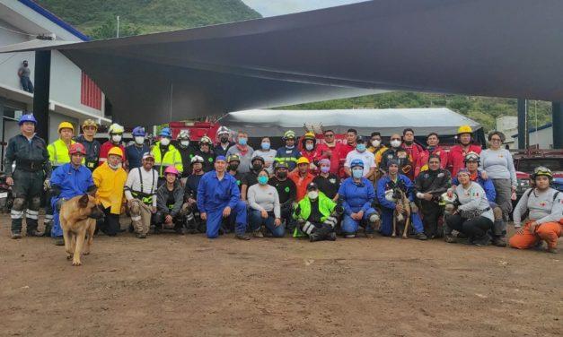 Imparten el taller Búsqueda y Rescate en Estructuras Colapsadas